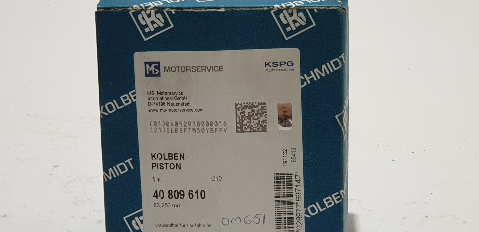 mb om651 40809610 +0,25mm l